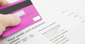 How can you pay attention to your credit card statement properly?